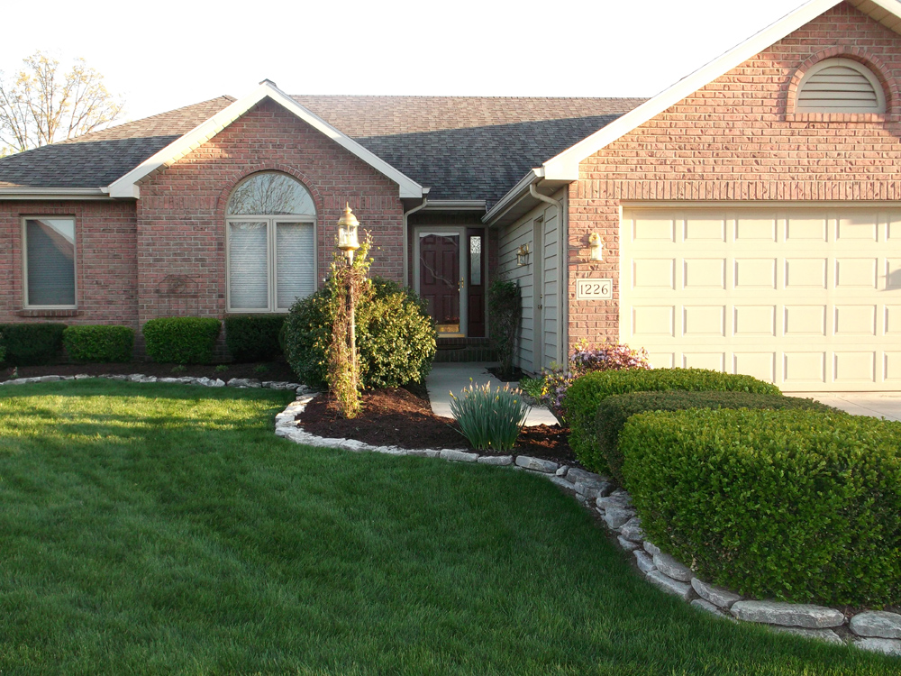 Fort Wayne Residential Exterior Painting Aaa Perfection Paintingaaa Perfection Painting